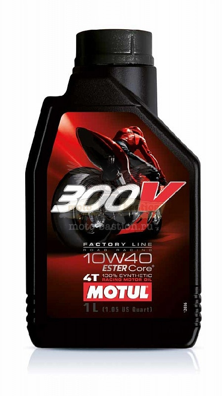 Масло Motul 300V4T FL Road Racing 10w40 (1л.)