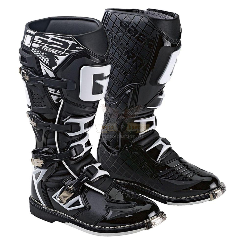 Мотоботы GAERNE G-React Goodyear Black