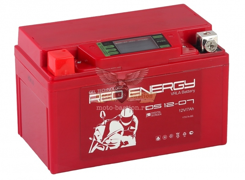 Аккум [Red Energy] DS-1207