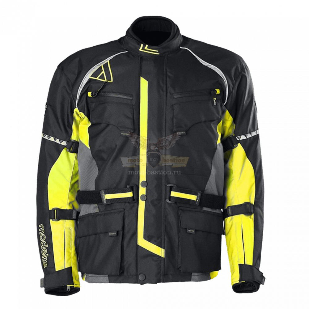 Куртка MODEKA Tourex black/ yellow