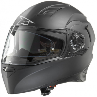 Экипировка - Шлем AXO RS01 Helmet with PINLOCK  -  blac/grey