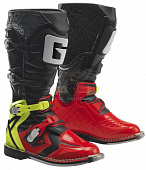 Мотоботы GAERNE G-React Red/Yellow/Black